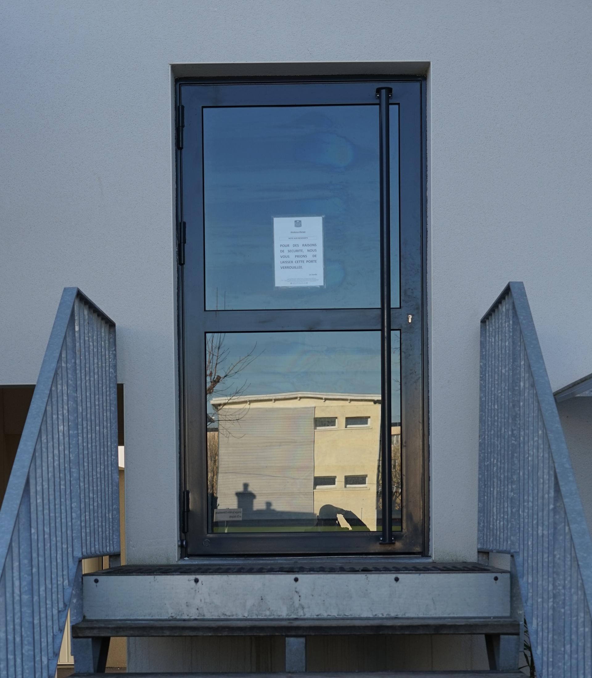 Bâtiment - Porte d'entrées - Acier